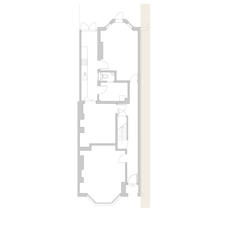Victorian 3 storey Terrace